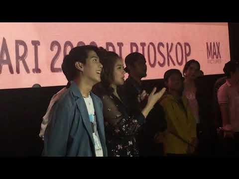 """ANTARANEWS - Iqbaal Ramadhan Dan Vanesha Prescilla Di Pemutaran Perdana """"Milea: Suara Dari Dilan"""""""
