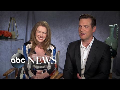 Peter Krause and Mireille Enos chat about the new season of 'The Catch'
