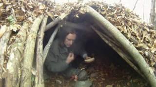 Dakota oheň a stavba úkrytu - Dakota fire and  construction of shelter