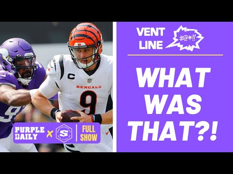 Minnesota Vikings open 2021 season with a DISASTROUS overtime loss to Cincinnati Bengals - VENT LINE