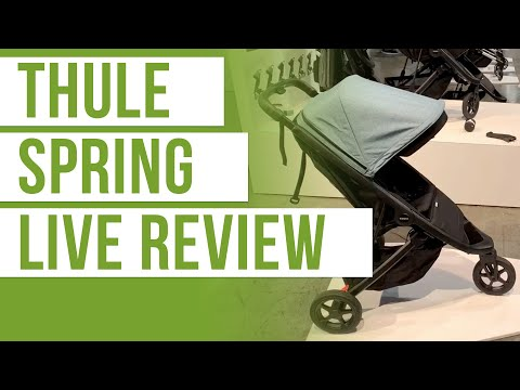 Thule Spring Stroller Review | LIVE Single Stroller Review | Magic Beans Stroller Review