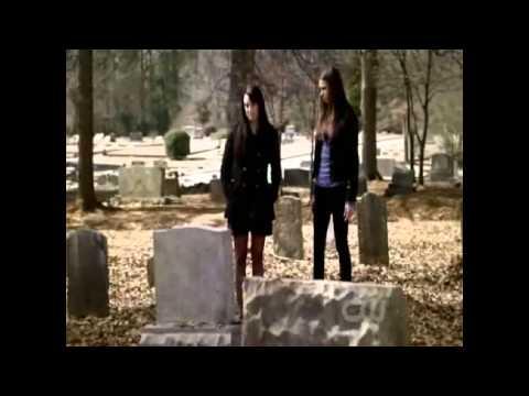 Vampire Diaries 2x17 - Isobel and Elena - Isobel kills herself