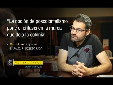 """Mario Rufer: """"La"""