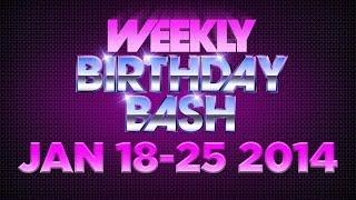 Celebrity Actor Birthdays - January 19-25, 2014 HD