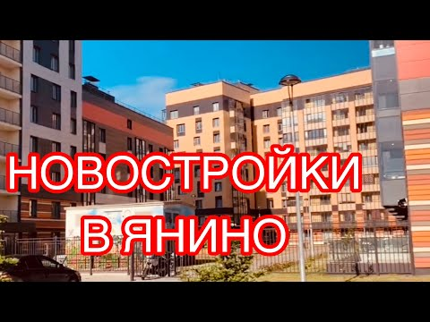 ОБСЛЕДУЕМ ЖИЛЫЕ КОМПЛЕКСЫ В ЯНИНО.