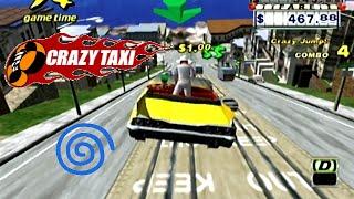 Crazy Taxi playthrough (Dreamcast)