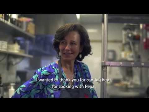 Banco Santander I Ana Botín visita 'El Qüenco de Pepa'