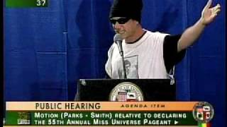 Zuma Dogg Takes Control of L.A. City Council Meeting for SIX MINUTES!