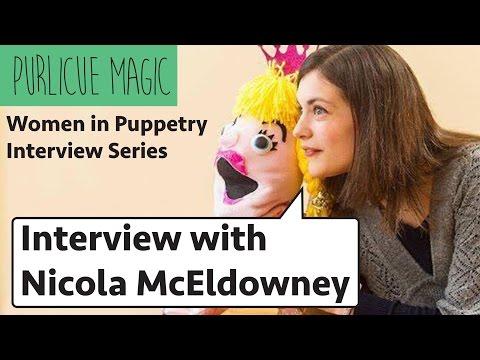 Women in Puppetry Interview: Nicola McEldowney