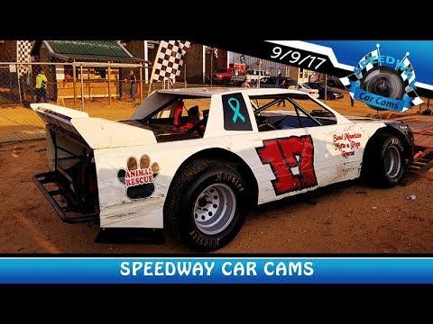 #17 Mark Sutton - B-Hobby - 9-9-17 Fort Payne Motor Speedway - In Car Camera