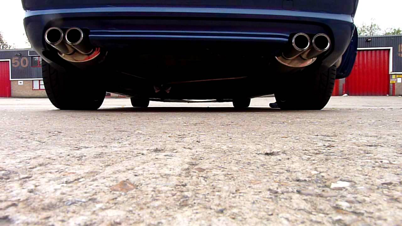 Bmw E46 330ci Exhaust Youtube