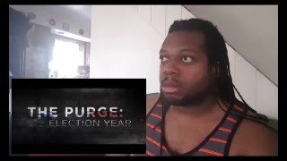 TXI REACTION: The Purge - Election Year Trailer