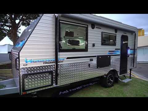 Compact Caravan By Wonderland RV. Lightweight And Luxurious Australian Made Caravans.