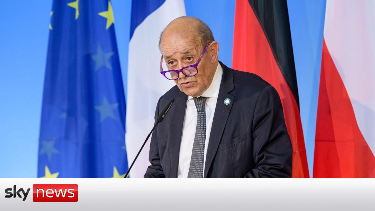 Download France recall US & Australian ambassadors after 'brutal' nuclear deal