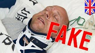Mężczyzna przez 2 lata udaje, że jest sparaliżowany i w śpiączce