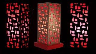 How to Make a Night Lamp From Cardboard