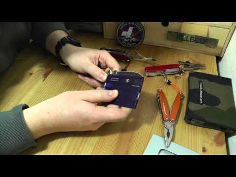 Victorinox SwissCard Classic   EDC Gear Werkzeug Multitool