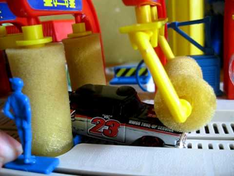 mattel car wash 1988 youtube. Black Bedroom Furniture Sets. Home Design Ideas