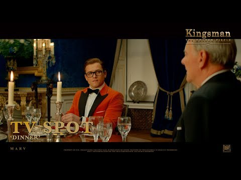 Kingsman: The Golden Circle ['Dinner' TV Spot in HD (1080p)]