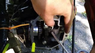 How to change valve shim on Honda Ruckus GET