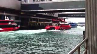Hong Kong Catamaran ferry heads for Macau