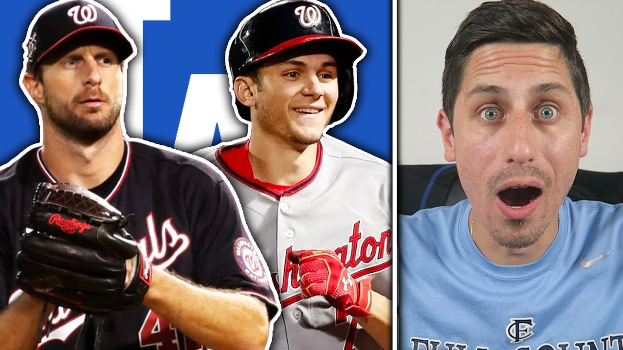 Max Scherzer & Trea Turner TRADED to the Los Angeles Dodgers!