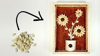 פרחים מגרעיני דלעת