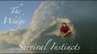 The Wedge | Survival Instincts | Getting Pounded at The Wedge | July 2018 | Sony A7Sii | Edit