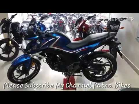 the all new honda cb hornet 160 r blue color bs 4. Black Bedroom Furniture Sets. Home Design Ideas