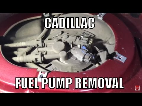 Cadillac Fuel Pump Removal Youtube