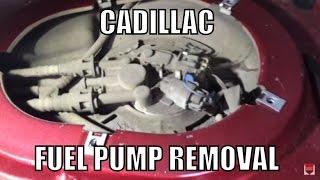 Cadillac Fuel Pump Removal
