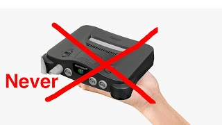 The real reason we'll neטer get an N64 mini - it's not what you think