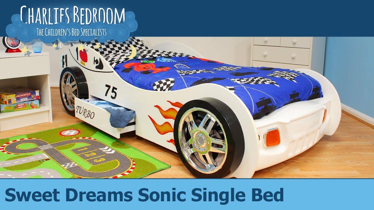 Amazing Sweet Dreams Sonic Single Bed   Charlies Bedroom