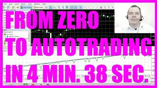 MQL5 TUTORIAL - FROM ZERO TO AUTOTRADING IN 4 MINUTES AND 38 SECONDS