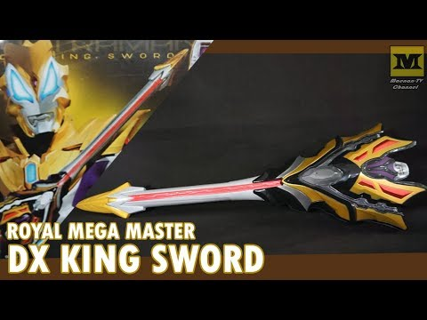 DX KING SWORD (Ultraman Geed Royal Mega Master)