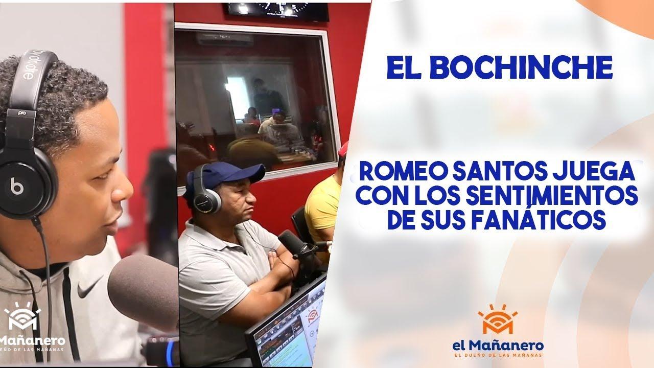 El Bochinche - Romeo juega con los sentimientos de sus fanáticos, Henry santos responde