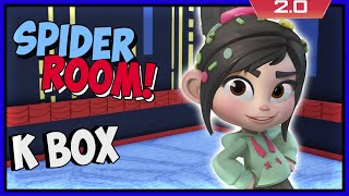 Disney Infinity 2 Toy Box Adventures! Spider Room Design Wars!