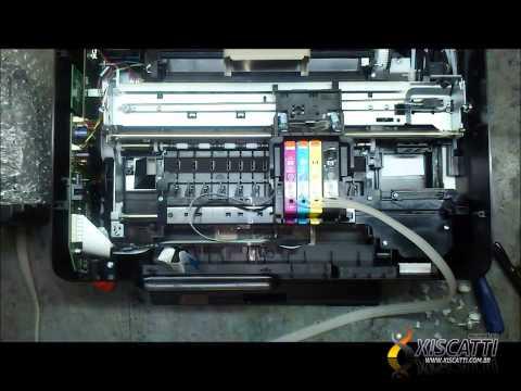 Bulk INk HP Advantage 5525