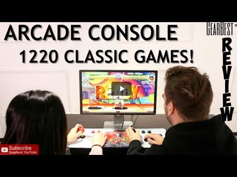 Arcade Console w  1220 Video Games!   GearBest Shopping Online