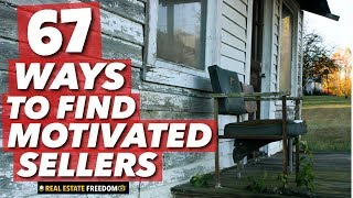 Generating Leads - How To Find Motivated Sellers