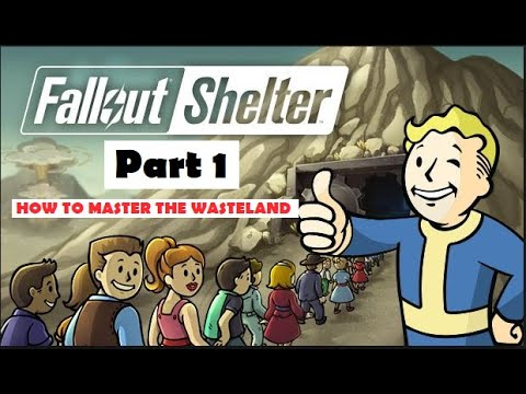 Fallout Shelter - How To Play Guide With Tips And Tricks 2019 Part 1 🐀🐱‍👤