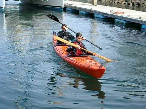 Rolling A Tandem Kayak