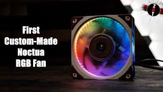 The First Custom-Made Noctua RGB Fan! (2019)