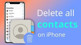 Some of the queries below are also answered by this video: How to delete all contacts on iPhone How .