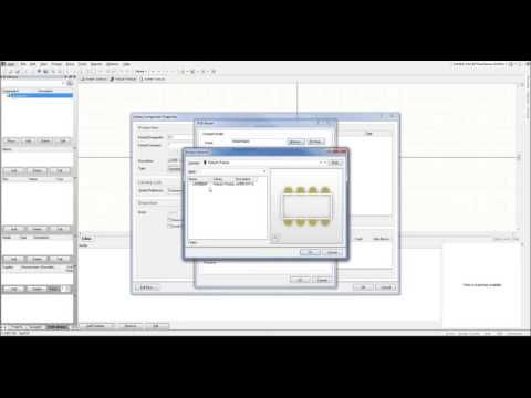 Altium Designer Tutorial   Part 2   Creating a Library for the Integrated Circuit