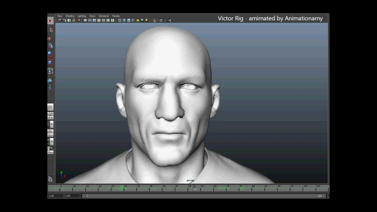 Facial animation and lip sync in maya