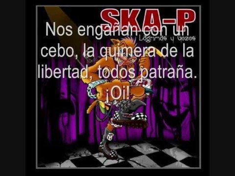Ska-P - Ni fu ni fa con letra