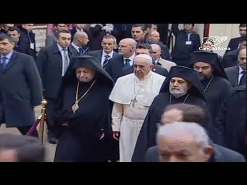 Papa mantém diálogo com igrejas cristãs...