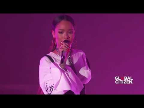 "Rihanna "" Work"", Live"