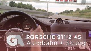 homepage tile video photo for EXTRA: Porsche 991.2 Carrera 4S Convertible (Turbo) - AUTOBAHN...